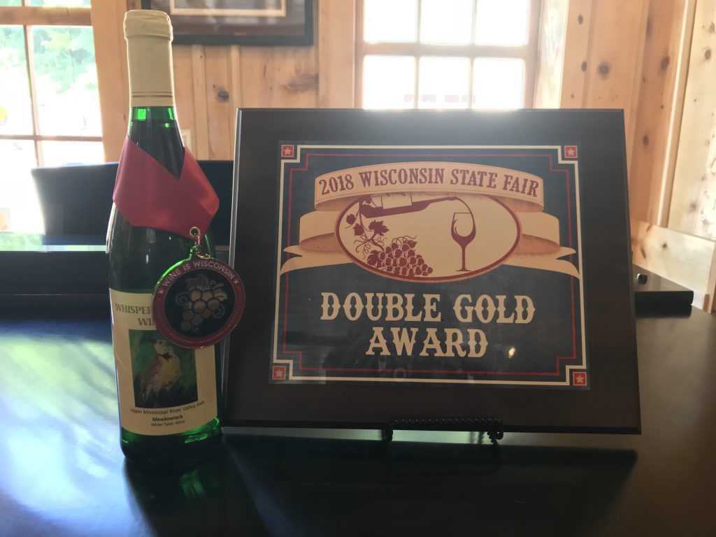 Meadowlark wine wins double gold award at Wisconsin State Fair